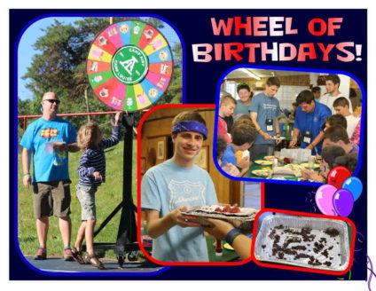 wheel of birthdays