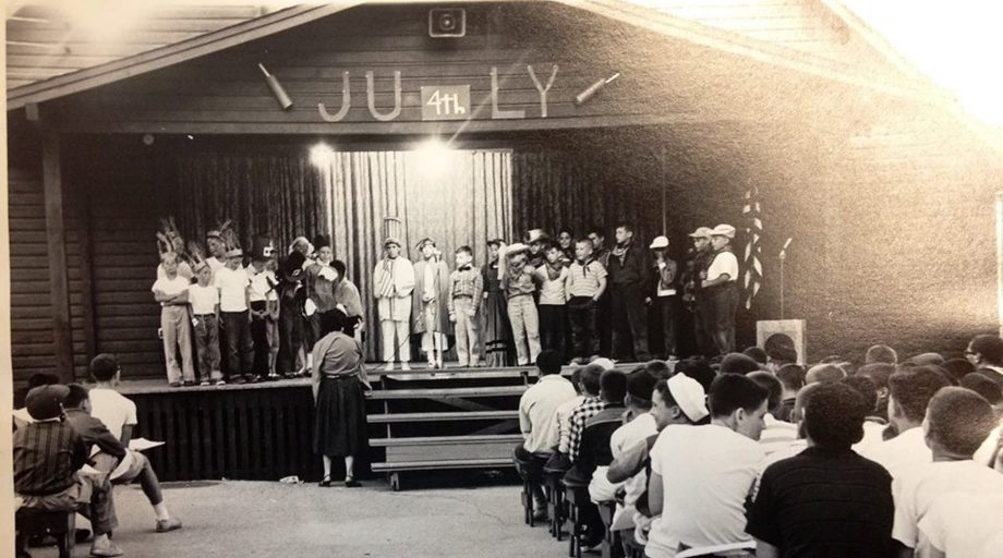 Old photo of Camp Airy