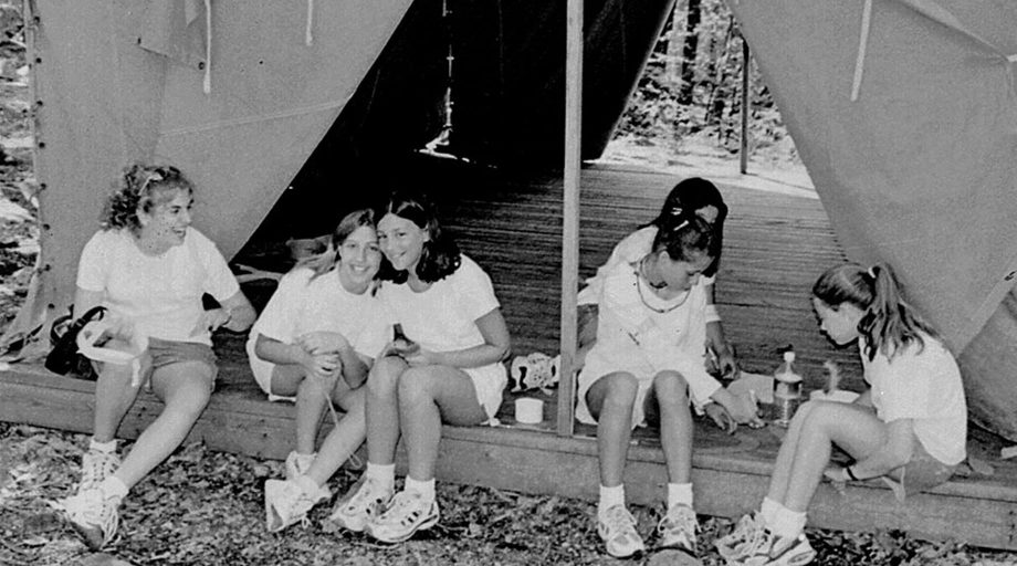 Old photo of Camp Louise