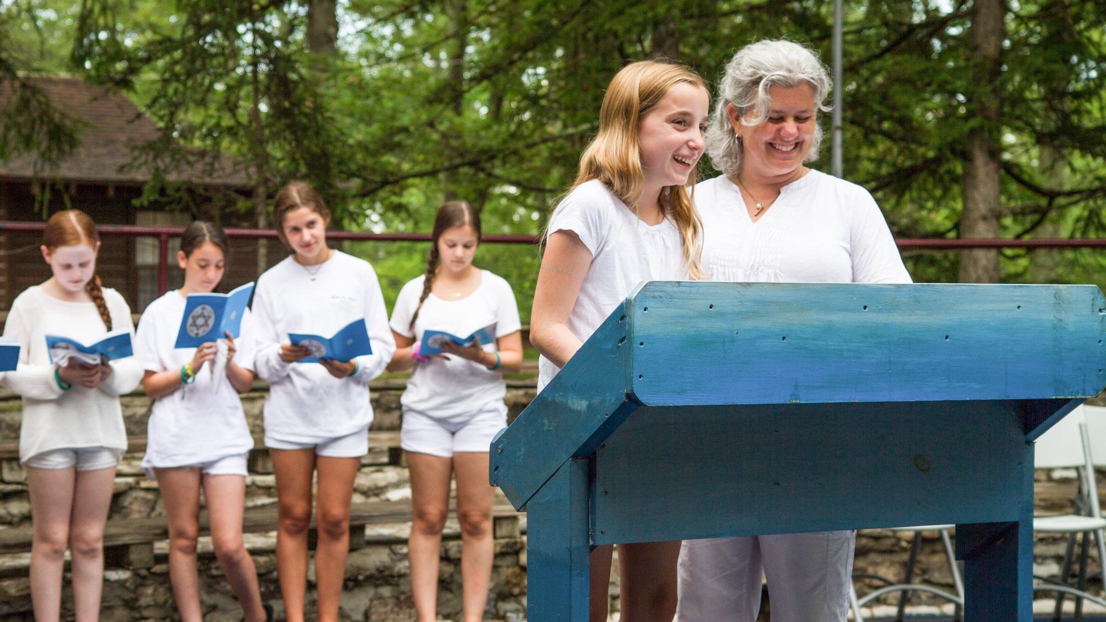 Jewish life at Camp Louise