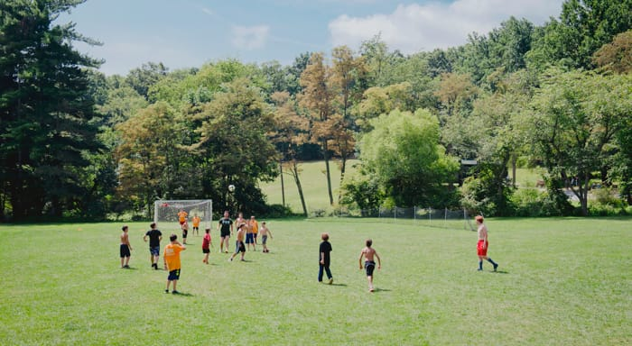 Soccer at Camp Airy