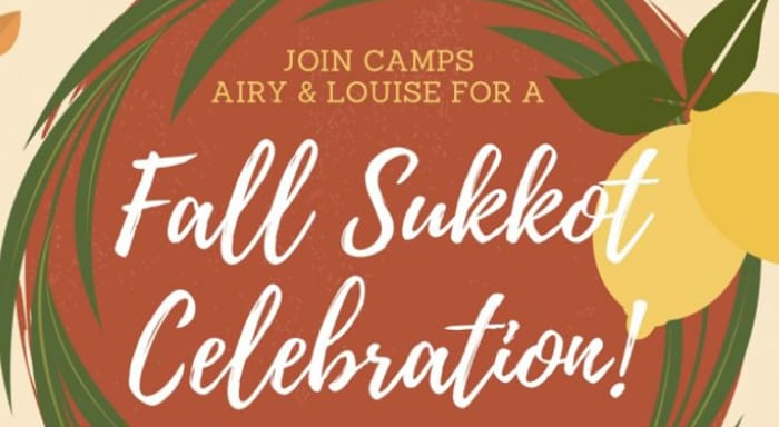 Fall Sukkot flyer